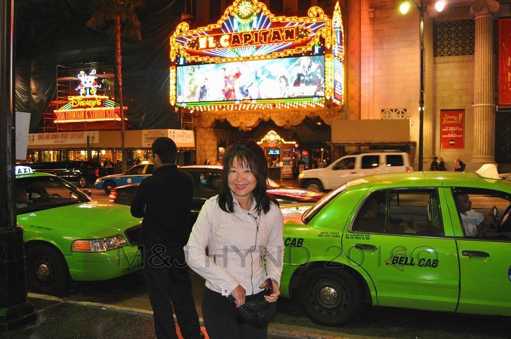 El Capitan theatre, Hollywood, LA, USA