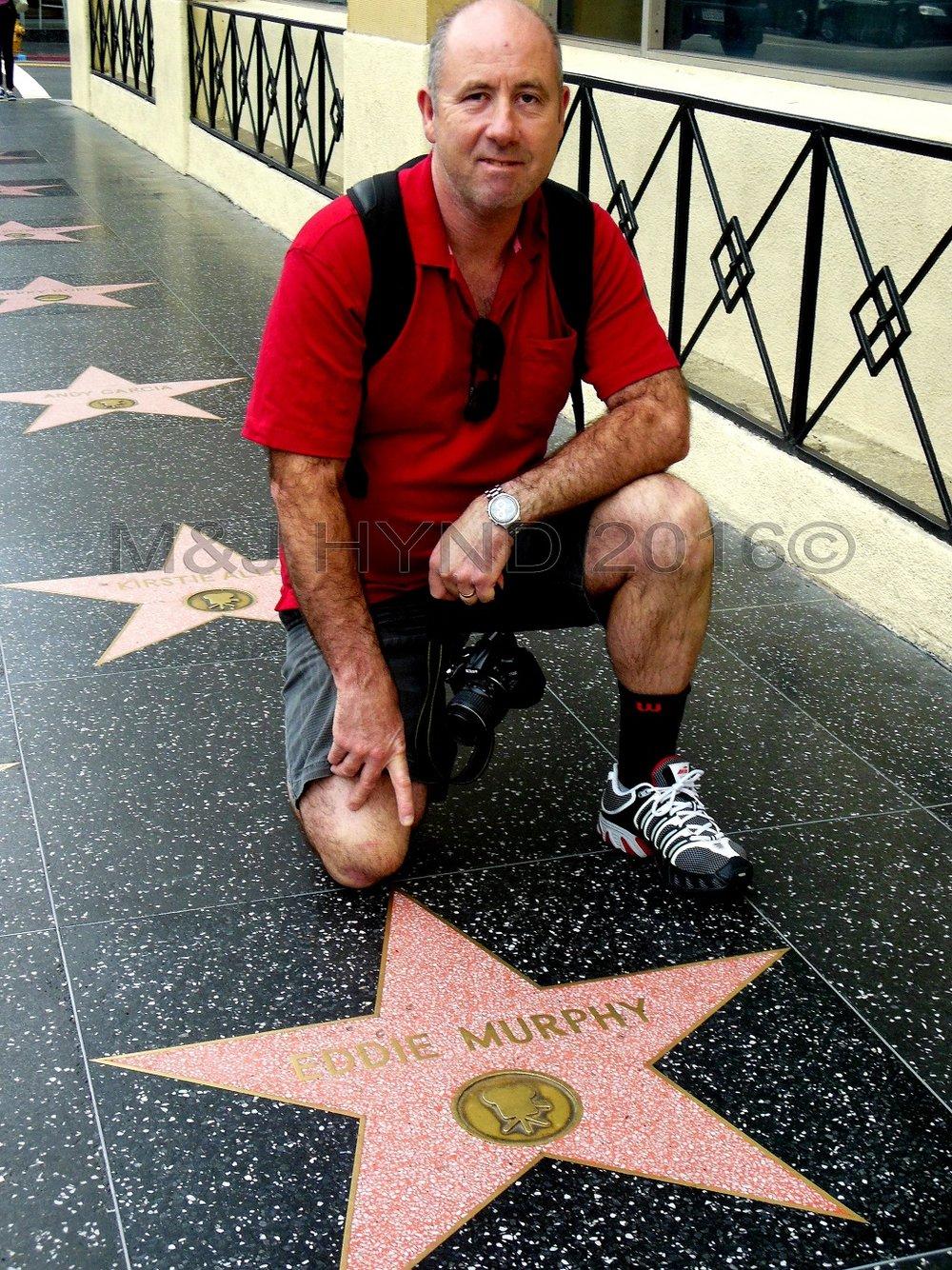 Walk of Fame, Hollywood, LA, USA