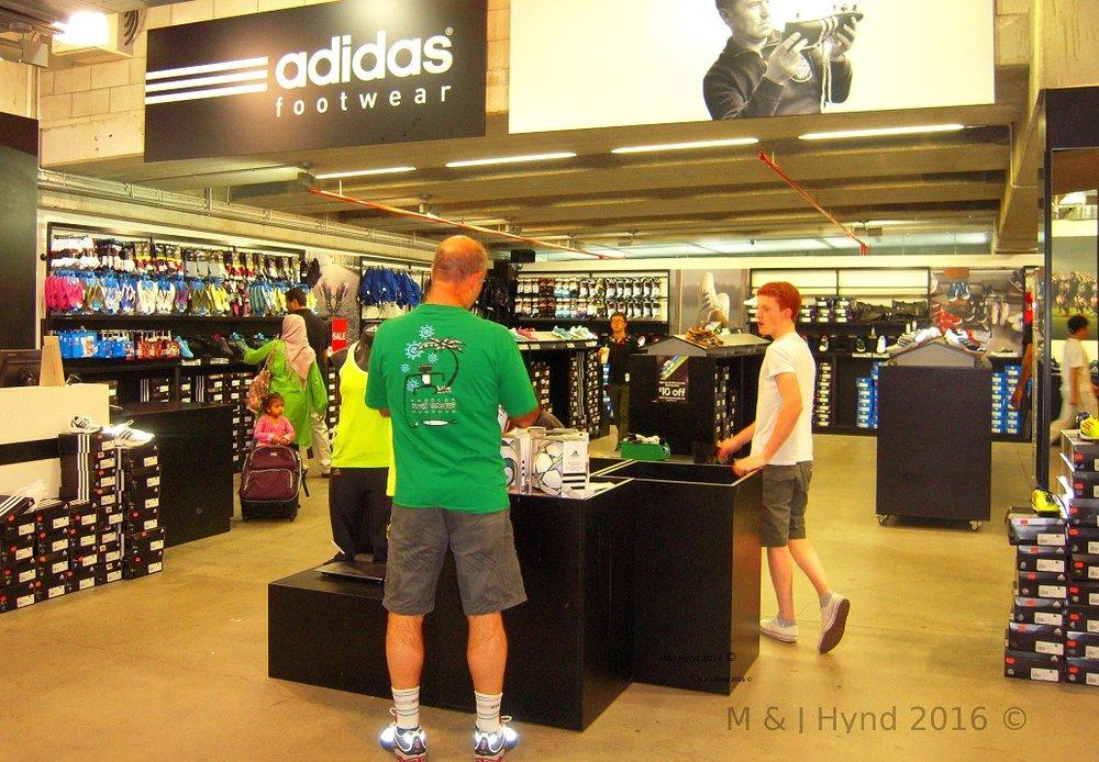 Adidas, Dress Smart outlet mall, Onehunga, NZ