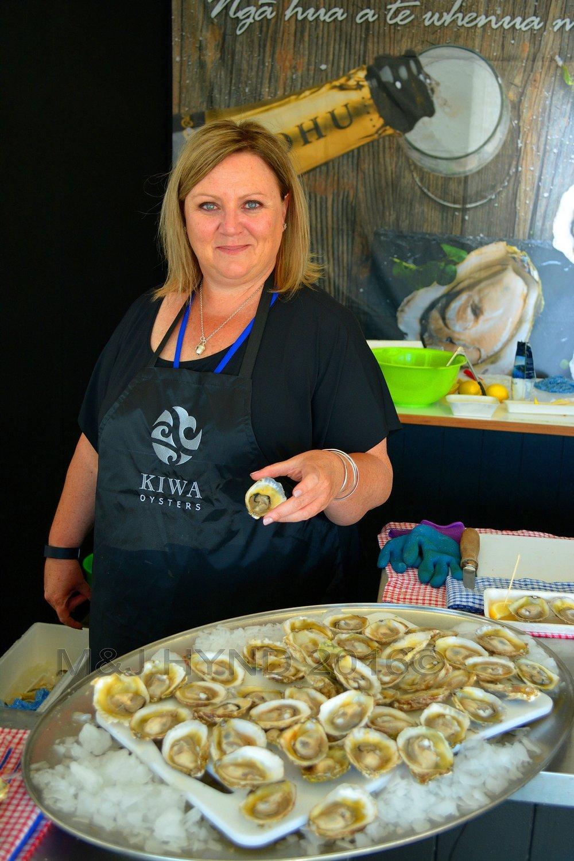 Kiwa Oysters, Seafood Festival, Auckland, NZ
