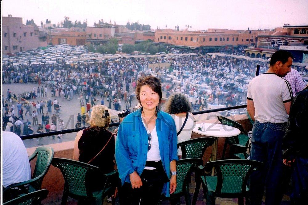 Jemaa el Fnaa medina souk, Marrakech, Morocco