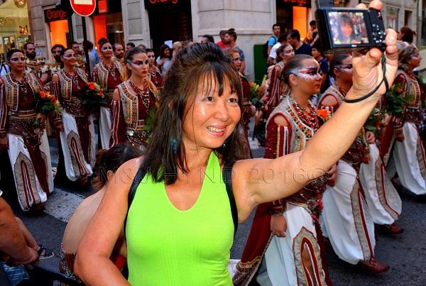 Moors & Christians August fiesta, Elche, Costa Blanca, Spain