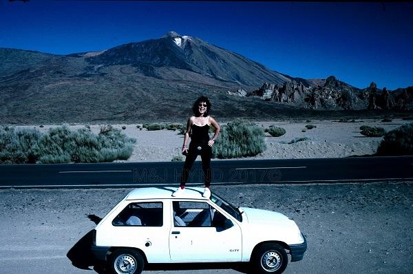 PreStroke barren terrain, Mt Teide, Tenerife, Canary Island, Spain