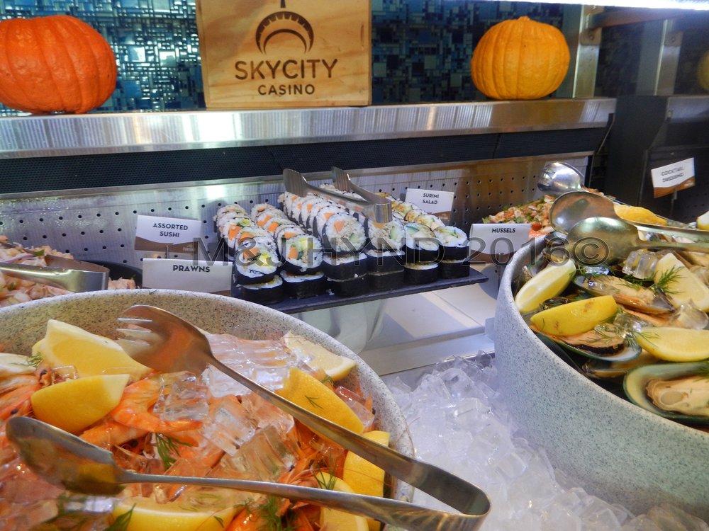 SkyCity Fortuna restaurant buffet, Auckland, NZ