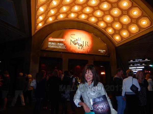 Civic Theatre Cirque du Soleil Le Noir, Auckland, NZ
