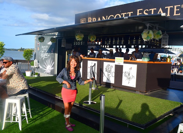 Brancott Estate Bar, Seafood Festival, Auckland, NZ