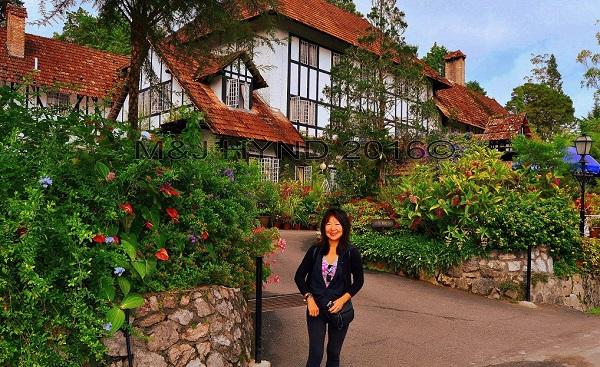 Old Smokehouse, tea house, Tanah Rata, Cameron Highlands, Malaysia