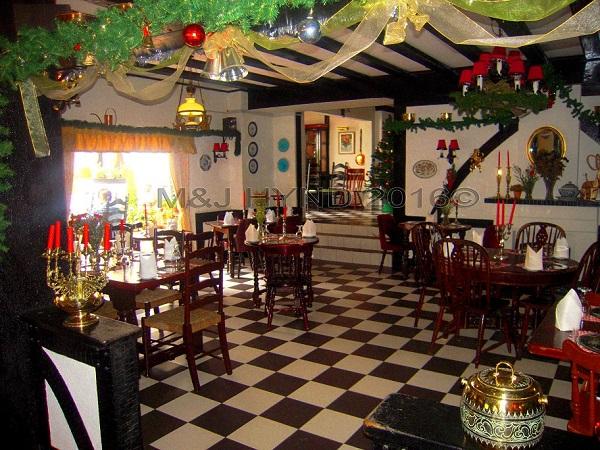 Old Smokehouse, tea house interior, Tanah Rata, Cameron Highlands, Malaysia