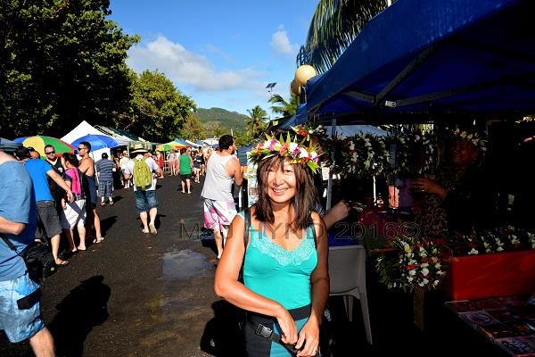 Punanga Nui market, Avarua, Rarotonga, Cook Islands