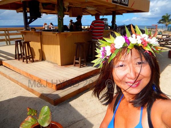 Islander hotel Hula Bar: all day happy hour, Avarua, Rarotonga, Cook Islands