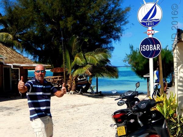 Sails Café and  ISOBAR, Muri, Rarotonga, Cook Islands