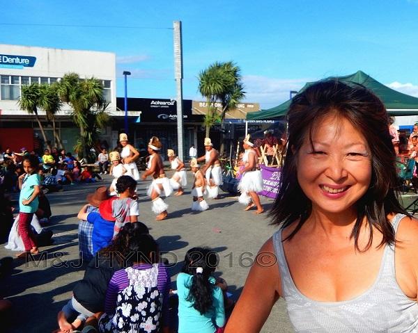 cultural Cook Islands dance troupe, Glen Innes, Auckland, NZ