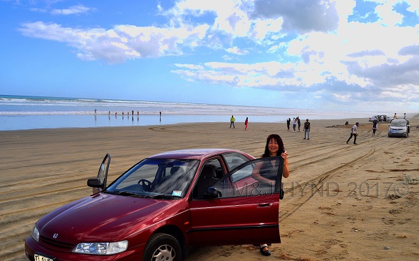 Miles of sand, Ninety Mile Beach, Northland, NZ