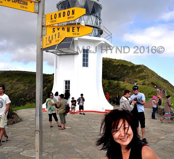 Cape Reinga, NZ most northern point, Northland, NZ