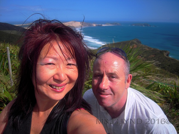 Cape Reinga looking south, Northland, NZ