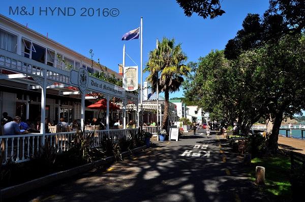 Downtown Russell restaurants, Northland, NZ