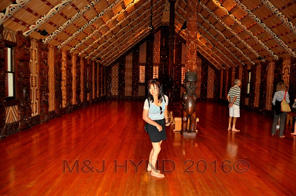 Historic Waitiangi ; meeting house, Northland, NZ