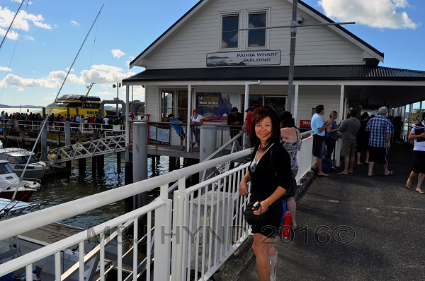Paihia wharf, Northland, NZ
