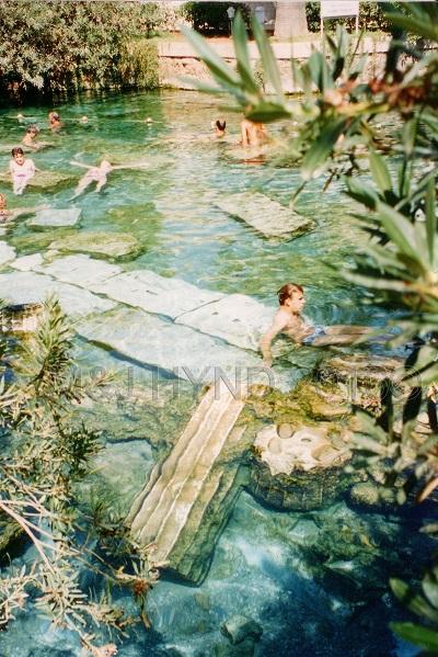 Pamukkale Sacred Pool, Pamukkale, Turkey