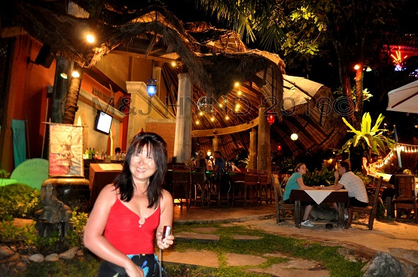 restaurant Thai architecture, Koh Samui, Thailand