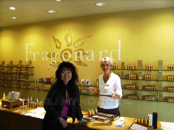 Fragonard perfume factory showroom, Grasse, Provence, France