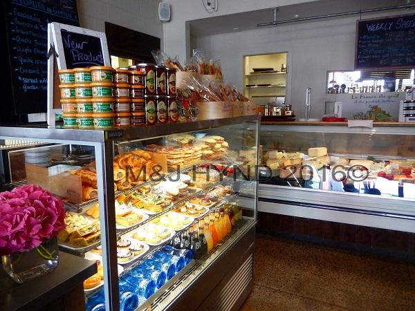 delicatessen corner counter, L'Atelier du Fromage, Auckland, NZ