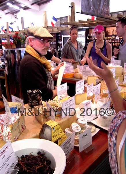 French cheese, French Market at La Cigale, Parnell, Auckland, NZ