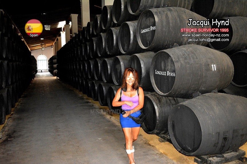 Jerez: Gonzalez Byass bodega
