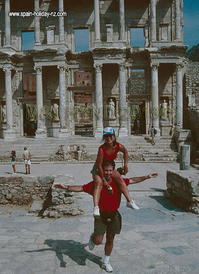 Pre-stroke: Library of Celsus