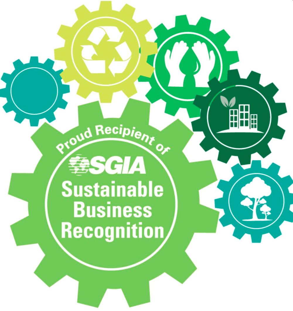 NTP har vunnet SGIA's pris for bærekraftig drift.