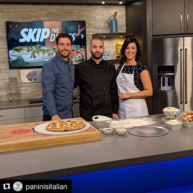 We are so proud of our friends and clients @paninisitalian! They stopped by @ctvedmonton Morning Live this morning to talk about their partnership with @skipthedishes. Don't to forget to vote for them for this year's restaurant series!