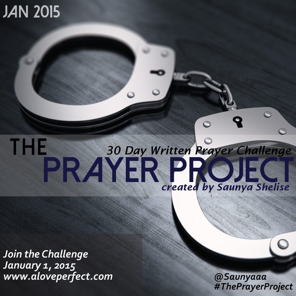 The Prayer Project Challenge #6 Sign Up: