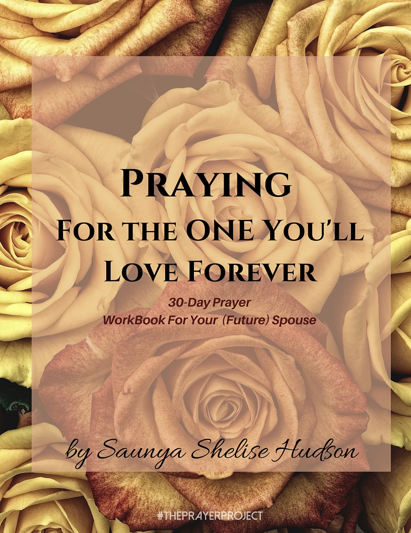 30-Day Prayer E-Workbook for Your (Future) Spouse