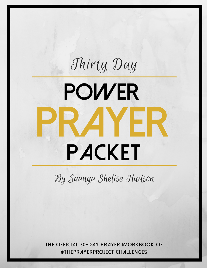 $15 - 30-Day Power Prayer Packet