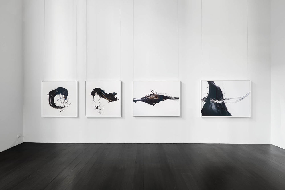 Installation view Shinichi Maruyama's exhibition Outside Looking In, Leslie Kehoe Galleries 2014 - Copyright Leslie Kehoe Galleries / Photography Michael Downes - Urban Angles.