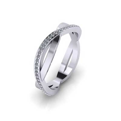 pave eternity ring hertfordshire