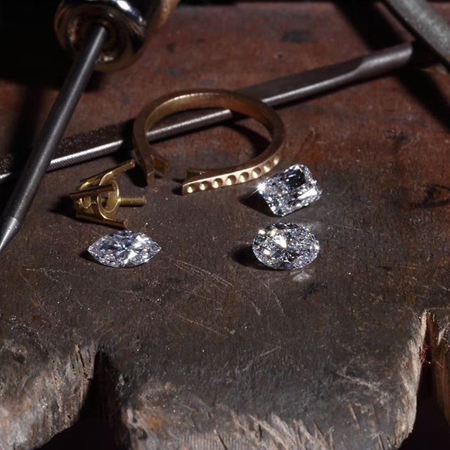 The finest quality diamonds are hand selected for every piece of  jewellery