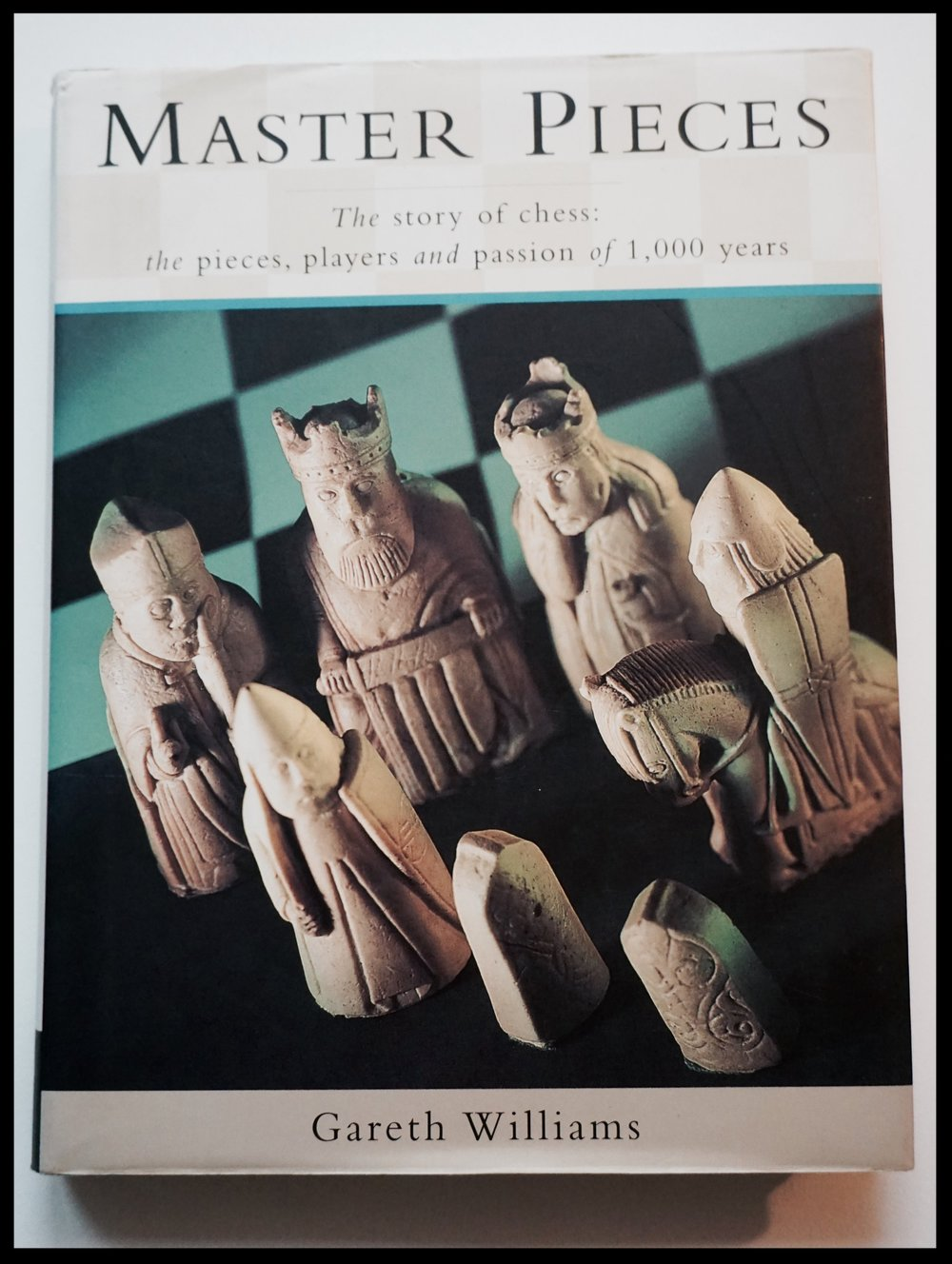 "Master Pieces, ""The story of chess: the pieces players and passion of 1000 years"""