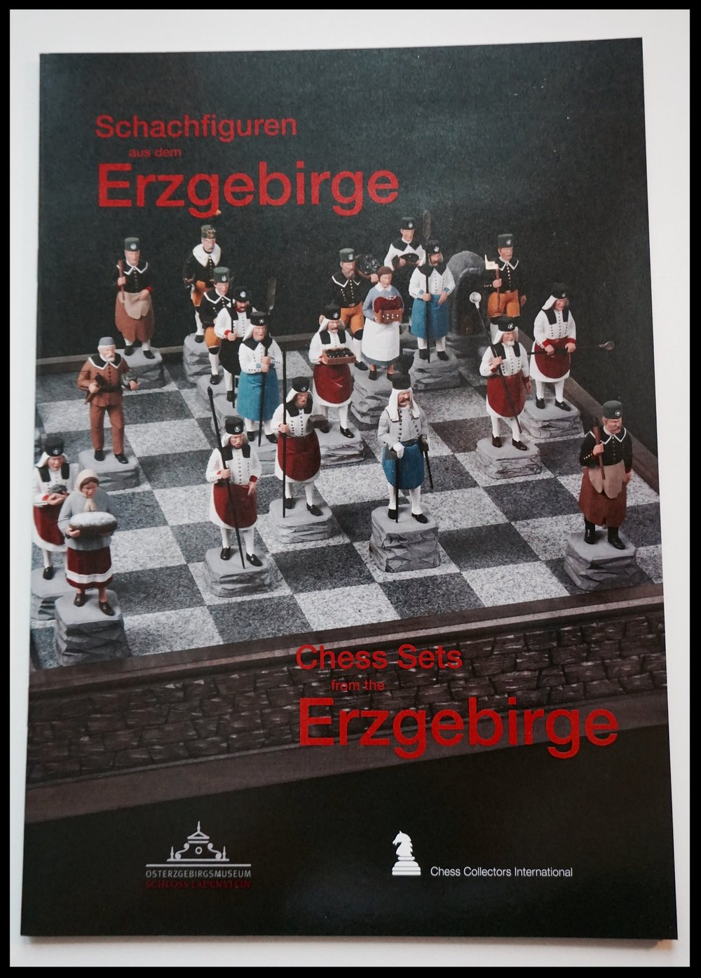 Schachfiguren aus dem Erzgebirge, Chess Collectors International 2012
