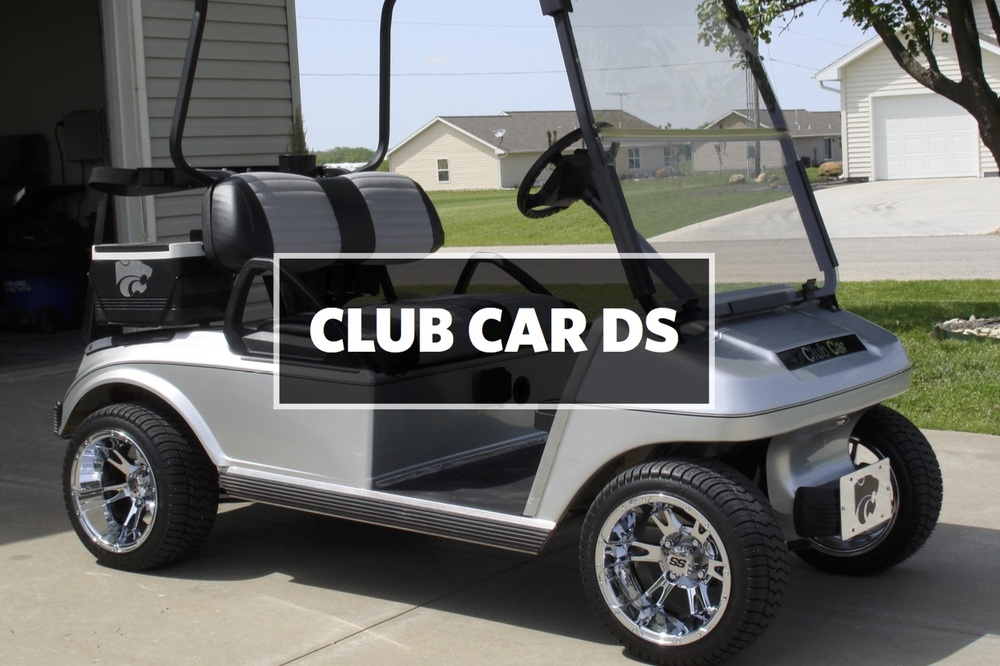 CLUB CAR DS SEAT COVERS