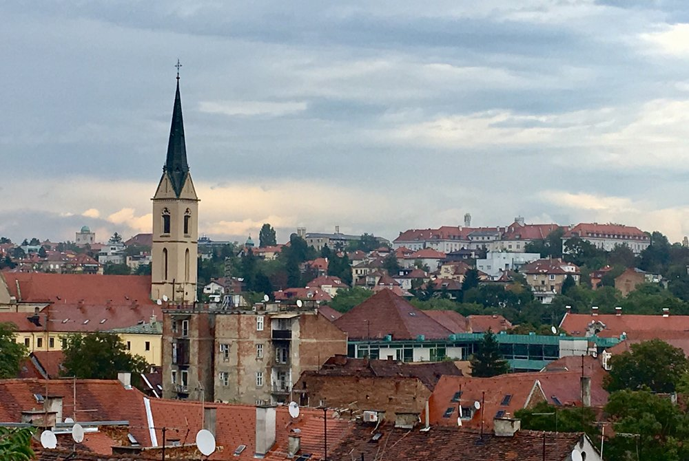 The old city of Zagreb