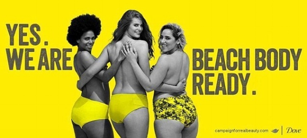 We love the Real Beauty campaign from Dove