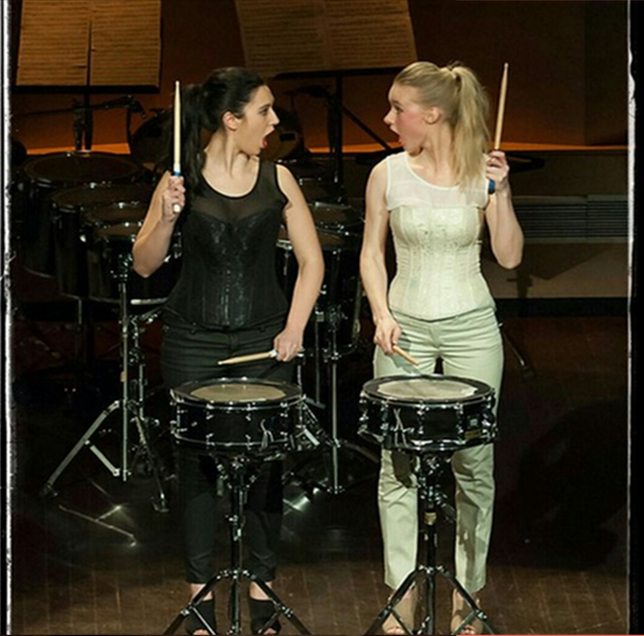 ma 12 okt 2015   (GEWEEST)   Stadhuis / Burgerzaal   LIP STICK PERCUSSION DUO