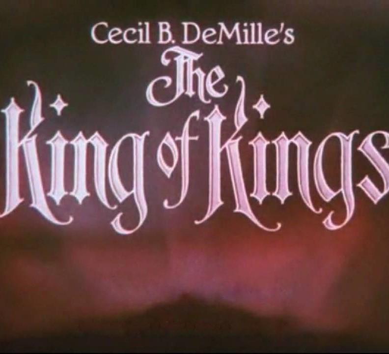 za 15 apr 2017 De Doelen / Grote Zaal KING OF KINGS silent-cinema