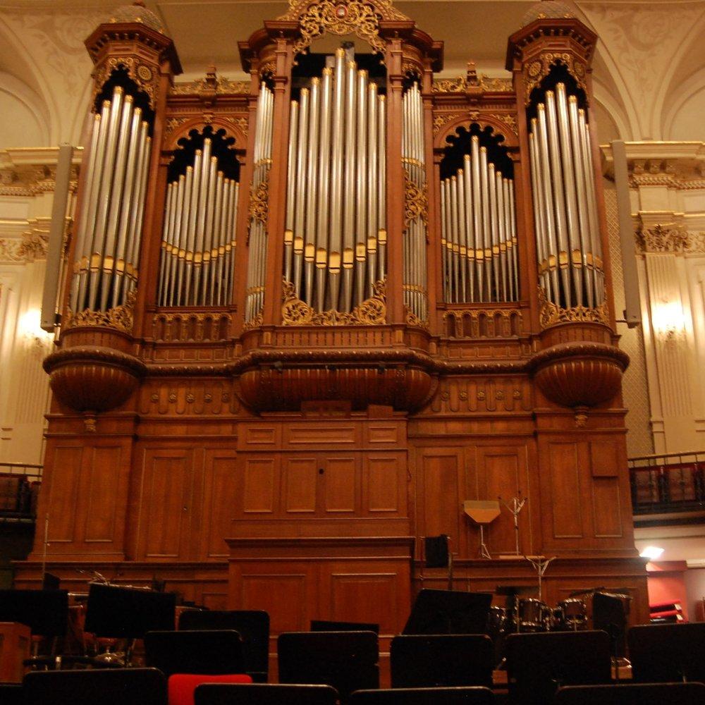 zo 21 okt 2018  Amsterdam / Concertgebouw  ORGELSYMFONIE SAINT-SAËNS