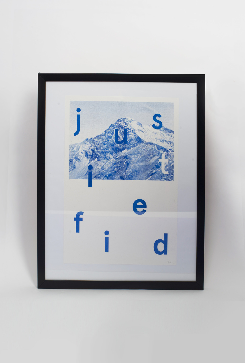 visualgraphic :      shop.justifiedmag.co.uk    A limited run of 25 Risograph prints printed on paper from Antails. This print has been framed (see other photo below), if you would like it with the frame then please get in contact.   Artist: Alexander Jesipow   For Justified No.2