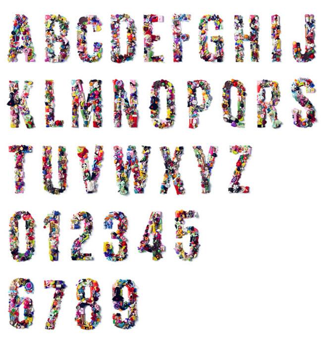 visualgraphic :      Toy Typography