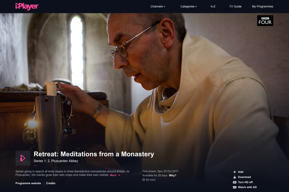 BBC Four - Meditations from a Monastery: Pluscarden Abbey