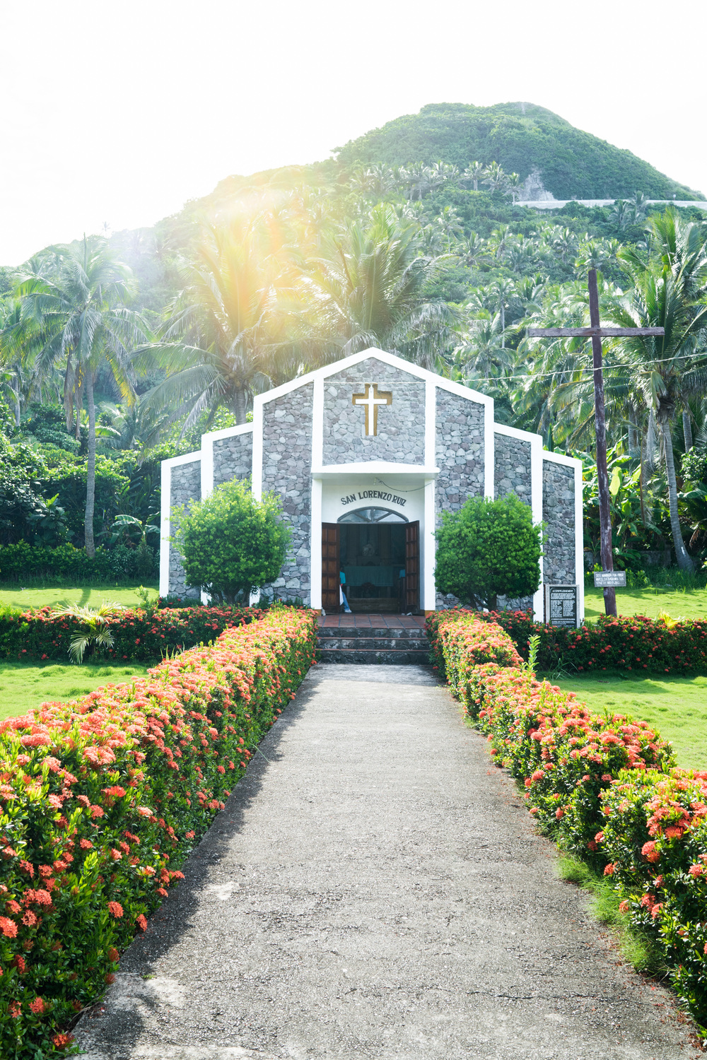 This is the church where they held the first catholic mass in Batanes