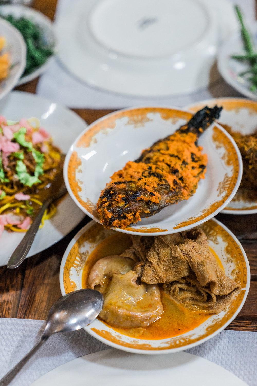 Ikan Bakar / Trip & Intestine Curry